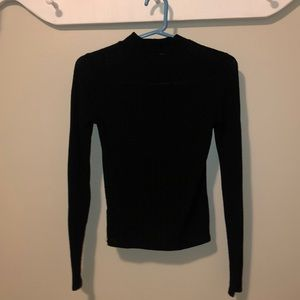 Black turtle neck shirt! Size small!